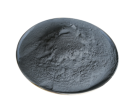 Black electrostatic powder