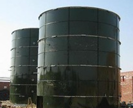 enamel bolted tank