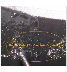 How to Avoid Bubble Defect for Cast Iron Enamel